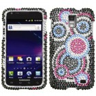 Samsung Galaxy S2 Skyrocket Bubble Diamante Case