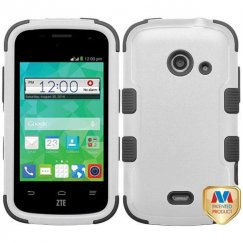 ZTE Prelude 2 / Zinger Natural Gray/Black Hybrid Case