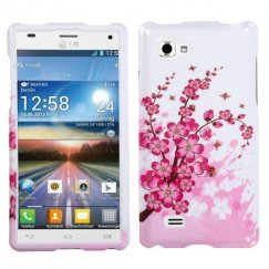 LG Optimus 4X HD Spring Flowers Case