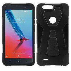 ZTE Blade Z Max / Sequoia Z982 Black Inverse Advanced Armor Stand Case