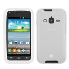 Samsung Galaxy Rugby Pro Solid Skin Cover - Translucent White