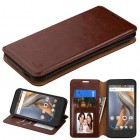 Coolpad Catalyst Brown Wallet(with Tray)