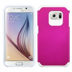 Samsung Galaxy S6 Hot Pink/White Astronoot Case