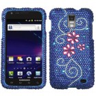 Samsung Galaxy S2 Skyrocket Juicy Flower Diamante Case