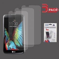 LG K10 Screen Protector (3-pack)- Strong Adhesion & Ultra-thin