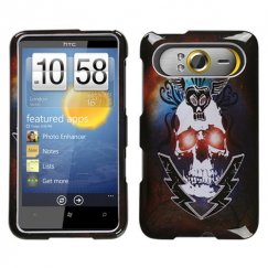 HTC HD7 Lightning Skull Case