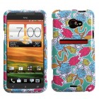 HTC EVO 4G LTE Rose Garden Phone Protector Cover