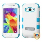 Samsung Galaxy Core Prime Natural Ivory White/Tropical Teal Hybrid Case with Stand