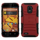 ZTE Warp 4G Red/Black Advanced Armor Stand Case