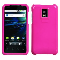 LG G2x Solid Shocking Pink Case