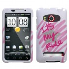 HTC EVO 4G It's My Rule Sparkle Phone Protector Cover