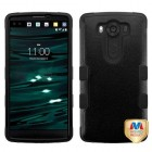 LG V10 Natural Black/Black Hybrid Phone Protector Cover