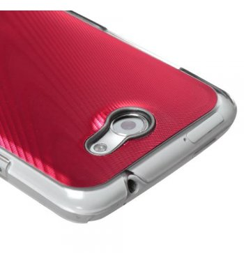 HTC One X Red Cosmo Back Case