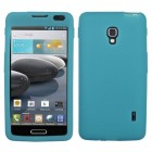 LG Optimus F6 Solid Skin Cover (Tropical Teal)