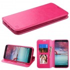 ZTE Grand X Max 2 Hot Pink Wallet with Tray