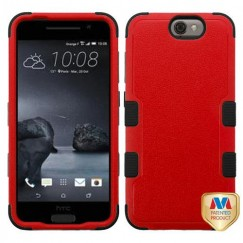 HTC One A9 Natural Red/Black Hybrid Case