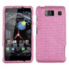 Motorola Droid RAZR HD Pink Diamante Case