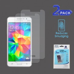 Samsung Galaxy Grand Prime Anti-grease LCD Screen Protector - Clear - 2-pack