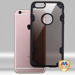 Apple iPhone 6/6s Plus Transparent Smoke/Black Hybrid Case