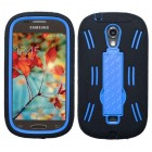 Samsung Galaxy Light Dark Blue/Black Symbiosis Stand Protector Cover