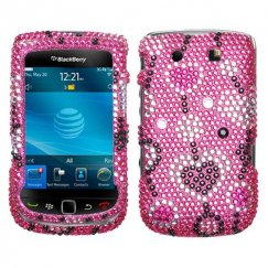 Blackberry 9800 Torch Love River Diamante Case