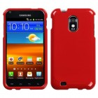 Samsung Galaxy S2 Solid Flaming Red Case