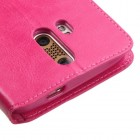 ZTE Axon Pro Hot Pink Wallet with Tray