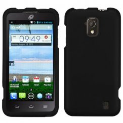 ZTE Solar Black Case - Rubberized