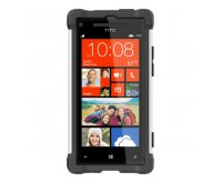Ballistic HTC 8X SG Case - Black / White