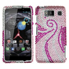 Motorola Droid RAZR HD Phoenix Tail Diamante Case