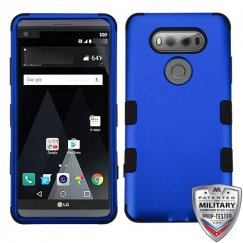 LG V20 Titanium Dark Blue/Black Hybrid Case