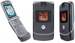 Motorola RAZR V3c Flip Phone for Verizon Wireless - Gray