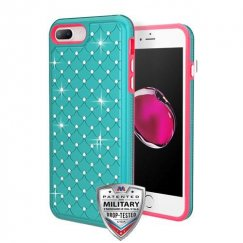 Teal Green/Electric Pink FullStar Contempo Hybrid Protector Cover