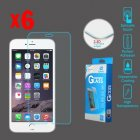 Apple iPhone 6 Plus Tempered Glass Screen Protector (2.5D)(6-pack)