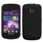 Samsung Illusion SCH-i110 Solid Skin Cover - Black