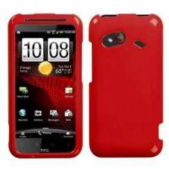 HTC Droid Incredible 4G LTE Solid Flaming Red Case