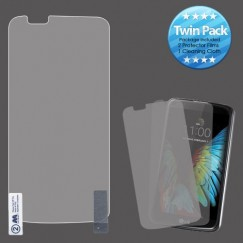 LG K10 Screen Protector Twin Pack