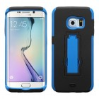 Samsung Galaxy S6 Edge Dark Blue/Black Symbiosis Stand Protector Cover