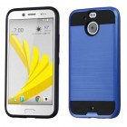HTC Bolt Dark Blue/Black Brushed Hybrid Case