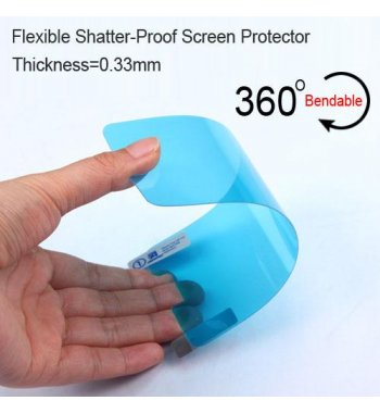 Alcatel Ideal / Streak / Dawn / Acquire Flexible Shatter-Proof Screen Protector