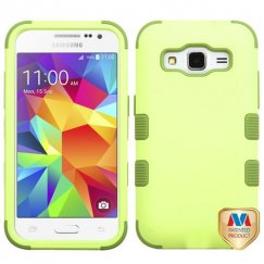 Samsung Galaxy Core Prime Green Tea/Olive Green Hybrid Case