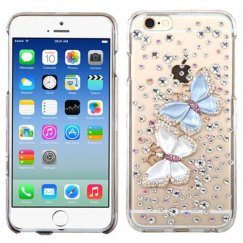 Apple iPhone 6/6s Butterfly Lovers Crystal 3D Diamante Case