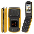 Samsung Rugby Bluetooth Music 3G Yellow Phone Unlocked