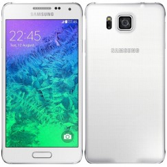 Samsung Galaxy Alpha 32GB SM-G850A Android Smartphone - Unlocked GSM - White