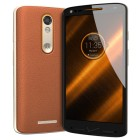 Motorola Droid Turbo 2 64GB XT1585 Android Smartphone for Verizon - Brown Leather with Gold Trim