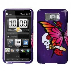 HTC HD2 Best Friend Purple Case