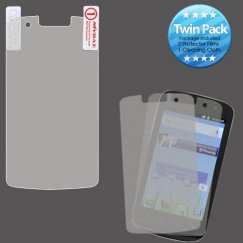Coolpad Quattro 4G Screen Protector Twin Pack