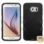 Samsung Galaxy S6 Natural Black/Black Hybrid Case