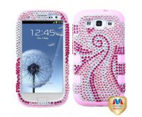Phoenix Tail Diamante/Light Pink TUFF Hybrid Phone Protector Cover