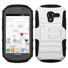 Samsung Galaxy Exhibit White/Black Advanced Armor Stand Protector Cover